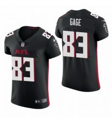 Atlanta Falcons 83 Russell Gage Nike Men Black Team Color Men Stitched NFL 2020 Vapor Untouchable Elite Jersey