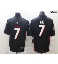 Men Nike Atlanta Falcons 7 Younghoe Koo Black New Vapor Untouchable Limited Jersey
