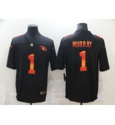 Nike Arizona Cardinals 1 Kyler Murray Black Colorful Fashion Limited Jersey