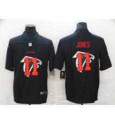 Nike Atlanta Falcons 11 Julio Jones Black Shadow Logo Limited Jersey