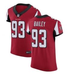 Nike Atlanta Falcons 93 Allen Bailey Red Team Color Men Stitched NFL Vapor Untouchable Elite Jersey