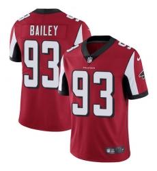 Nike Atlanta Falcons 93 Allen Bailey Red Team Color Men Stitched NFL Vapor Untouchable Limited Jersey