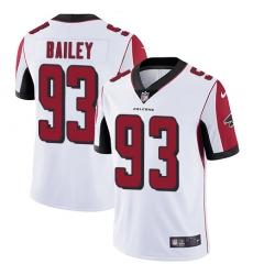 Nike Atlanta Falcons 93 Allen Bailey White Men Stitched NFL Vapor Untouchable Limited Jersey