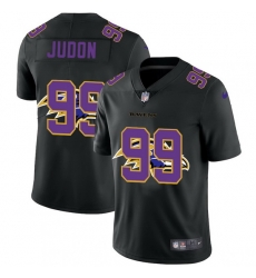 Baltimore Ravens 99 Matthew Judon Men Nike Team Logo Dual Overlap Limited NFL Jersey Black