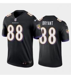 Men Baltimore Ravens Dez Bryant Black Vapor Untouchable Limited Jersey