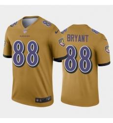 Men Baltimore Ravens Dez Bryant Legend Jersey