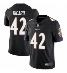 Men Nike Patrick Ricard Baltimore Ravens Limited Black Team Color Vapor Untouchable Jersey