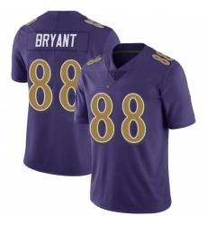 Men's Baltimore Ravens Dez Bryant Colour Rush Vapor Limited Jersey