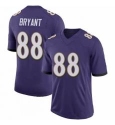 Men's Ravens Dez Bryant Purple Untouchable Vapor Limited Jersey