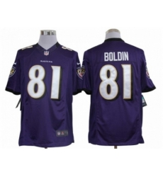 Nike Baltimore Ravens 81 Anquan Boldin purple Limited NFL Jersey