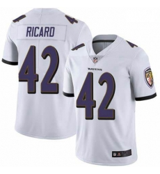 Nike Patrick Ricard Baltimore Ravens Limited White Team Color Vapor Untouchable Jersey Men's