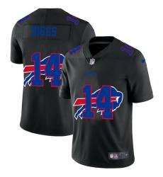 Buffalo Bills 14 Stefon Diggs Men Nike Team Logo Dual Overlap Limited NFL Jersey Black