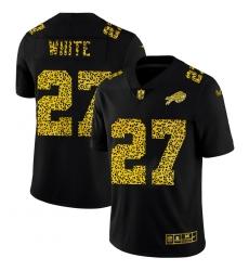 Buffalo Bills 27 Tre 27Davious White Men Nike Leopard Print Fashion Vapor Limited NFL Jersey Black