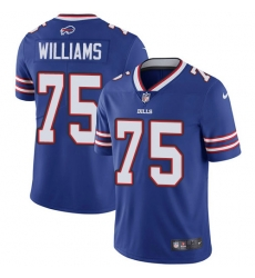 Nike Buffalo Bills 75 Daryl Williams Royal Blue Team Color Men Stitched NFL Vapor Untouchable Limited Jersey