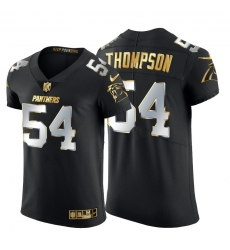 Carolina Panthers 54 Shaq Thompson Men Nike Black Edition Vapor Untouchable Elite NFL Jersey