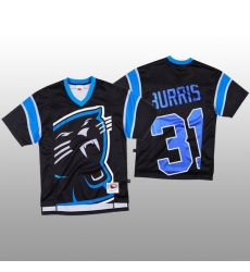 NFL Carolina Panthers 31 Juston Burris Black Men Mitchell  26 Nell Big Face Fashion Limited NFL Jersey