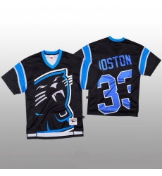 NFL Carolina Panthers 33 Tre Boston Black Men Mitchell  26 Nell Big Face Fashion Limited NFL Jersey