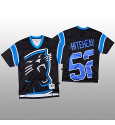 NFL Carolina Panthers 52 Tahir Whitehead Black Men Mitchell  26 Nell Big Face Fashion Limited NFL Jersey