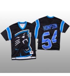 NFL Carolina Panthers 54 Shaq Thompson Black Men Mitchell  26 Nell Big Face Fashion Limited NFL Jersey