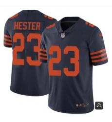 Men Chicago Bears #23 Devin Hester Navy Vapor Untouchable Limited Stitched NFL Jersey