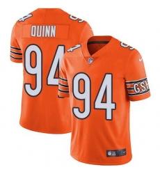 Nike Bears 94 Robert Quinn Orange Men Stitched NFL Limited Rush Jersey