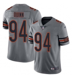 Nike Bears 94 Robert Quinn Silver Men Stitched NFL Limited Inverted Legend Jersey