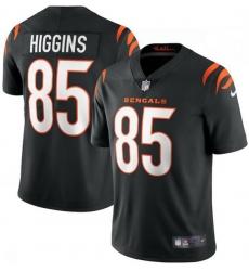 Men Nike Cincinnati Bengals 85 Tee Higgins Black Vapor Limited Jersey