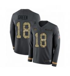 A.J. Green Cincinnati Bengals Therma Long Sleeve Jersey