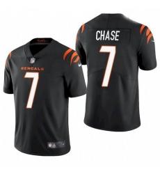 Youth Cincinnati Bengals Ja'Marr Chase Black 2021 Draft Jersey