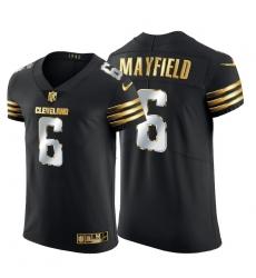 Cleveland Browns 6 Baker Mayfield Men Nike Black Edition Vapor Untouchable Elite NFL Jersey