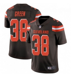 Men Cleveland Browns 38 A.J. Green Brown Vapor Limited Limited Jersey