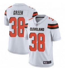 Men Cleveland Browns 38 A.J. Green White Vapor Limited Limited Jersey
