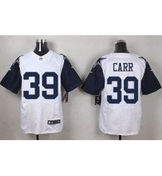 Nike Cowboys #33 Chidobe Awuzie White Mens Stitched NFL Elite Jersey