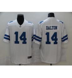 Nike Dallas Cowboys 14 Andy Dalton White Vapor Untouchable Limited Jersey