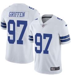 Nike Dallas Cowboys 97 Everson Griffen White Men Stitched NFL Vapor Untouchable Limited Jersey