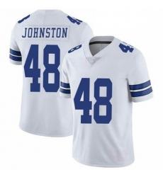 Youth Dallas Cowboys Daryl Johnston 84 Nike Vapor White Limited Jersey