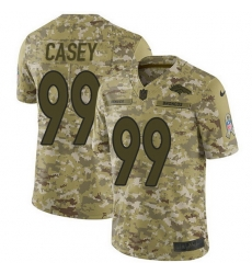 Nike Broncos 99 Jurrell Casey Camo Men Stitched NFL Limited 2018 Salute To Service Jersey