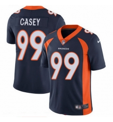 Nike Broncos 99 Jurrell Casey Navy Blue Alternate Men Stitched NFL Vapor Untouchable Limited Jersey