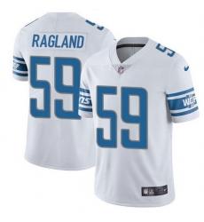 Nike Detroit Lions 59 Reggie Ragland White Men Stitched NFL Vapor Untouchable Limited Jersey