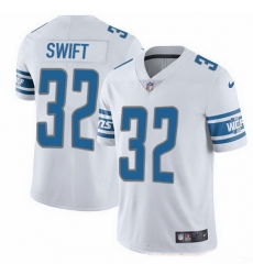 Nike Lions 32 D 27Andre Swift White Men Stitched NFL Vapor Untouchable Limited Jersey