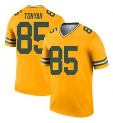 Men Green Bay Packers Robert Tonyan Green Legend Inverted Vapor Limited Jersey