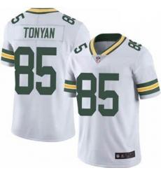 Men Green Bay Packers Robert Tonyan White Vapor Limited Jersey