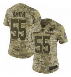 Women Nike Green Bay Packers 55 Za'Darius Smith 2018 Salute to Service Jersey