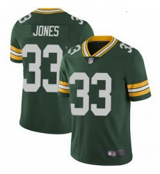Youth Nike Green Bay Packers 33 Aaron Jones Green Vapor Limited Jersey