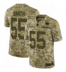Youth Nike Green Bay Packers 55 Za'Darius Smith 2018 Salute to Service Jersey