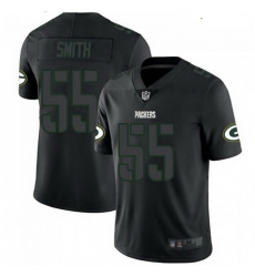Youth Nike Green Bay Packers 55 Za'Darius Smith Black Impact Limited Jersey