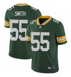 Youth Nike Green Bay Packers 55 Za'Darius Smith Green Vapor Limited Jersey
