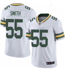 Youth Nike Green Bay Packers 55 Za'Darius Smith White Vapor Limited Jersey