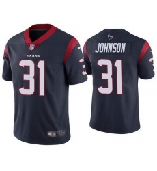 Nike Texans 31 David Johnson Navy Vapor Untouchable Limited Jersey