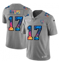 Indianapolis Colts 17 Philip Rivers Men Nike Multi Color 2020 NFL Crucial Catch NFL Jersey Greyheather